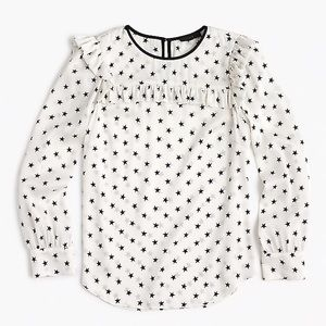 Silk, Stars and Softness - really beautiful blouse